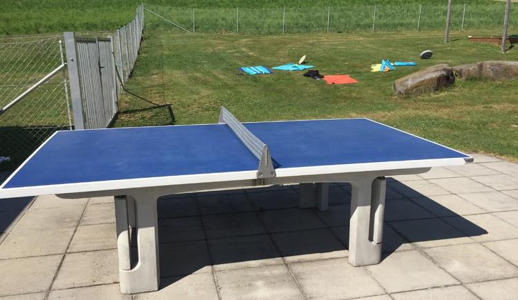 Tischtennistisch. (© Gemeinde Kirchberg ob der Donau)