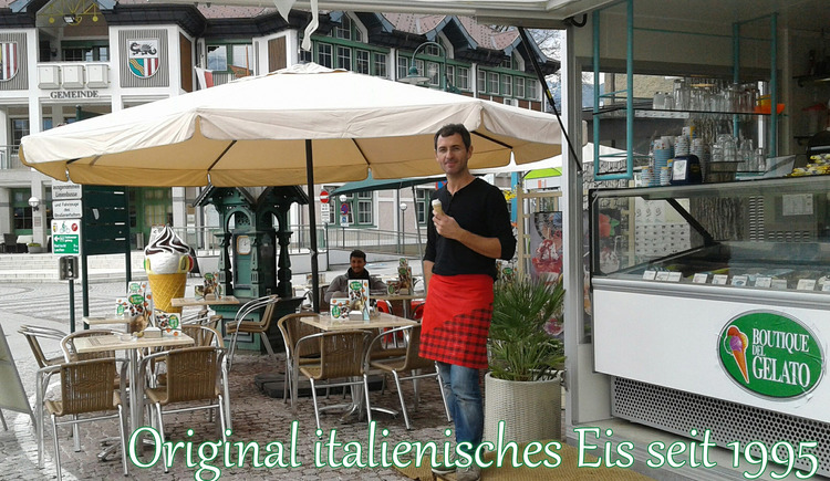 Boutique del Gelato am Marktplatz in Bad Goisern. (© © Boutique del Gelato)