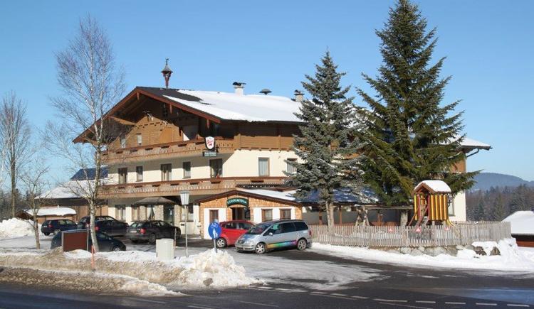 Gasthof im Winter (© Fam. Ebner)