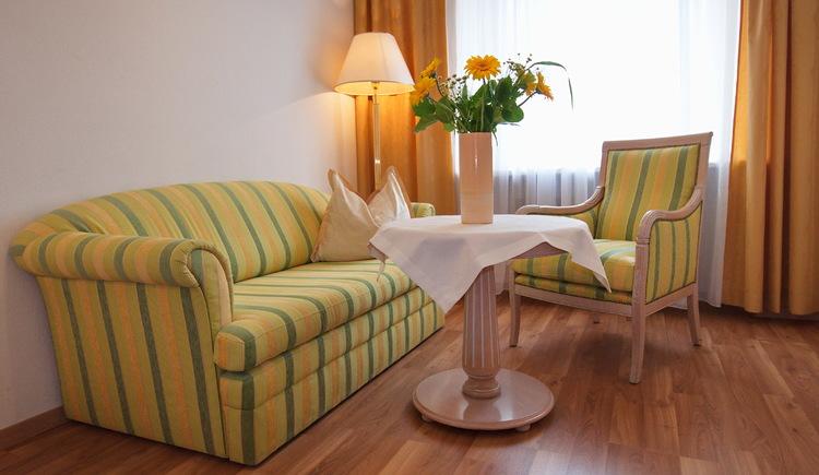 Romantisches Studio mit Blick auf Steyr und Enns im Minichmayr. (© Minichmayr)