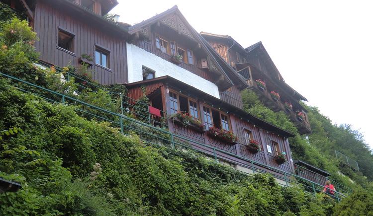 Haus Gummerer on the upper way in Hallstatt.