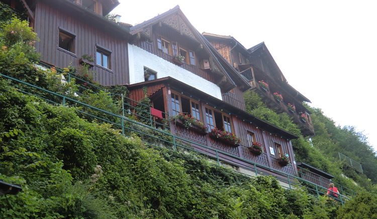 Haus Gummerer in Hallstatt am oberen Weg am Hallstättersee.