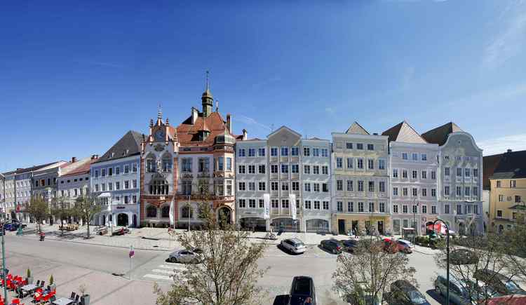 Stadtplatz Braunau am Inn (© Photo Ernesto)