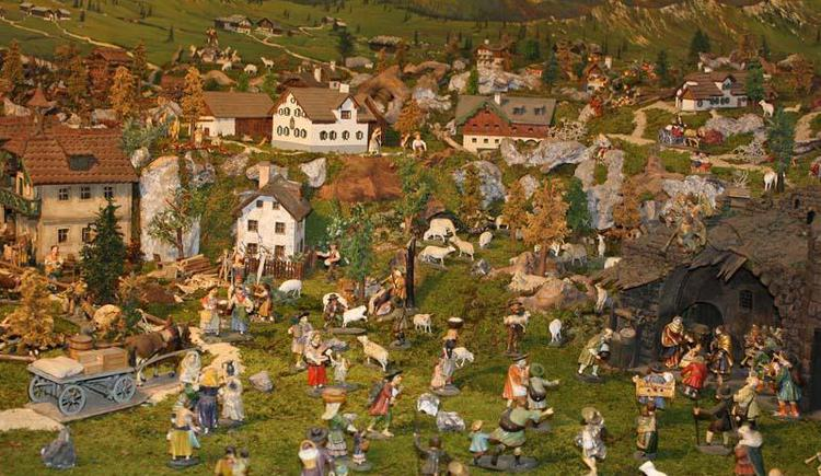 Landschaftskrippe aus Ebensee (© Tourismusbüro Ebensee)