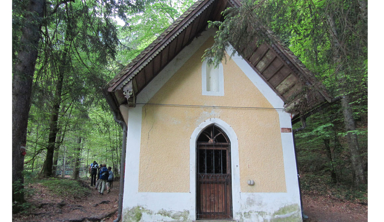 Small chapel in the wood