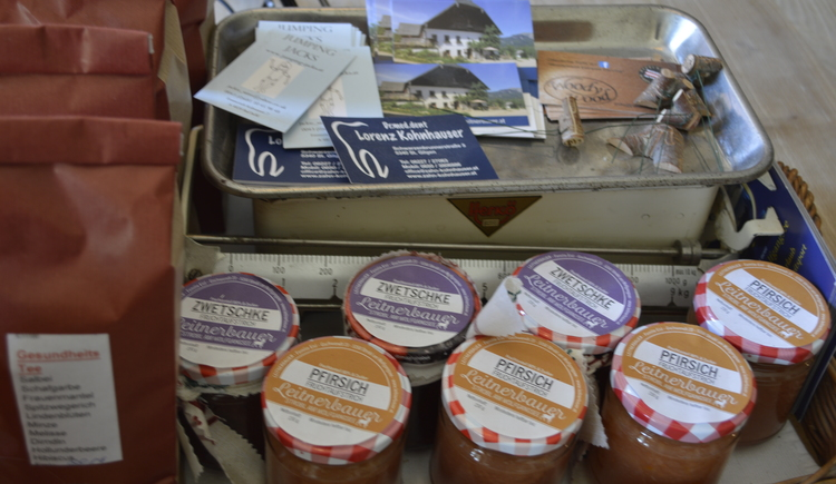 Marmeladen vom Leitnerbauer. (© WTG)