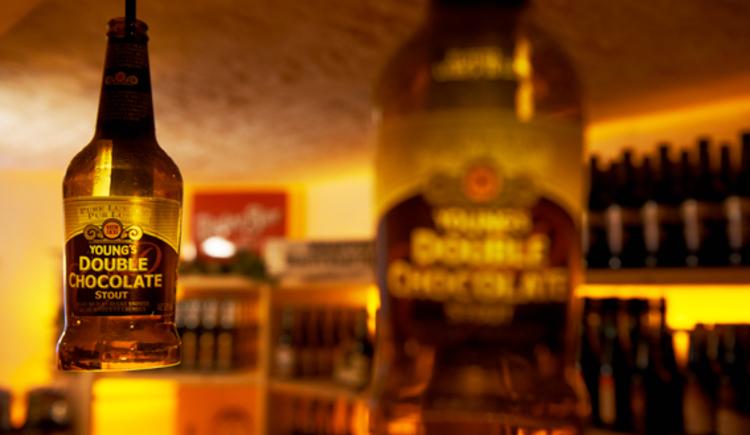 Reichliche Auswahl im Bierkeller des Gasthof Riedberg