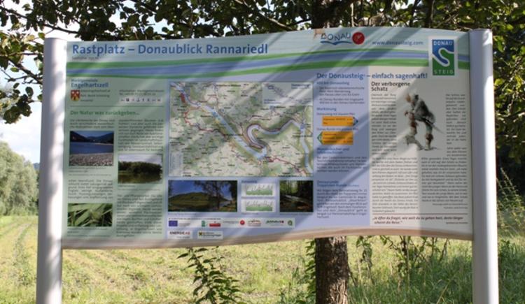 Rastplatz Donaublick Rannariedl. (© Werbegemeinschaft Donau Oberösterreich)