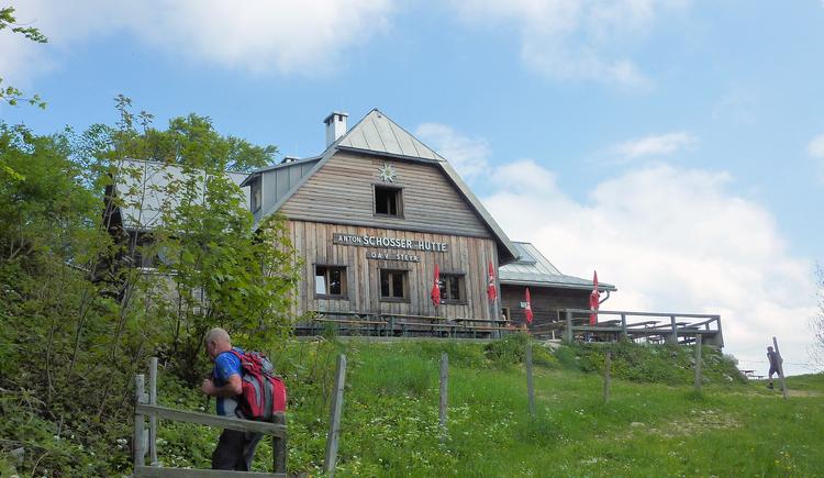 Anton Schosser Hütte - Losenstein. (© TV Nationalpark Region Ennstal - Sandra Kraushofer)