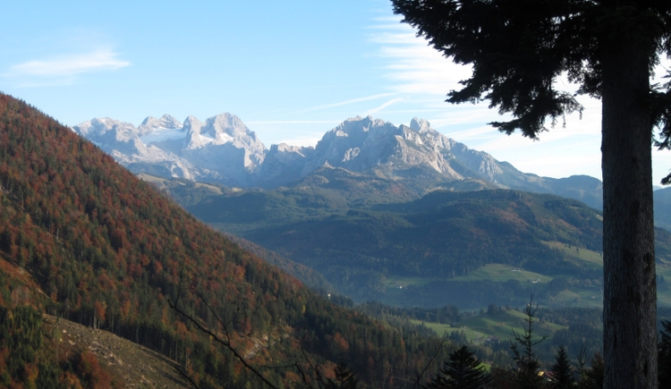 View on the Dachstein