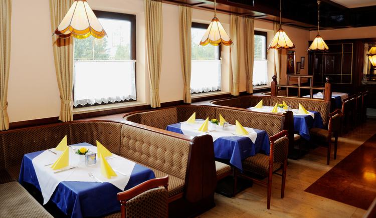 Gasthaus Café Zöpfl in Maria Schmolln - Gaststube. (© Innviertel Tourismus)