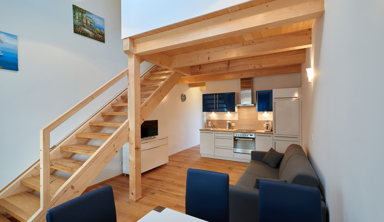 Neulendter Hof in Mettmach - Appartement Kochbereich