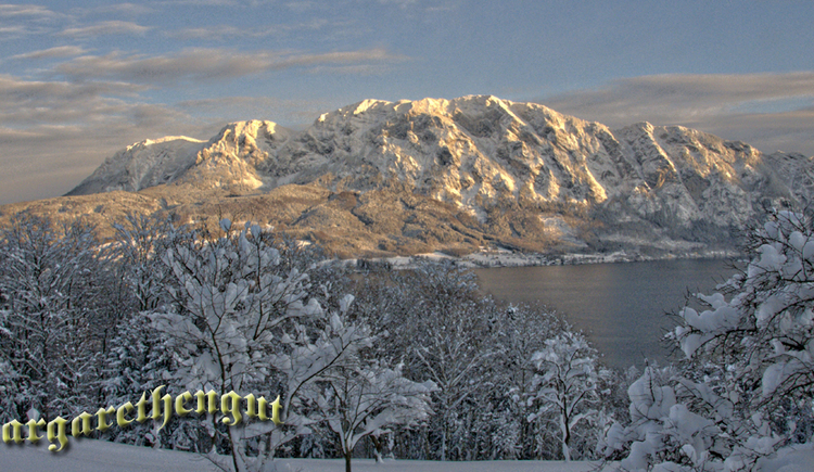 Attersee im Winter. (© Andreas Graf)