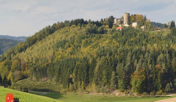 Burgruine Prandegg am Burgen- und Schlösserweg (© OÖ Tourismus/Röbl)