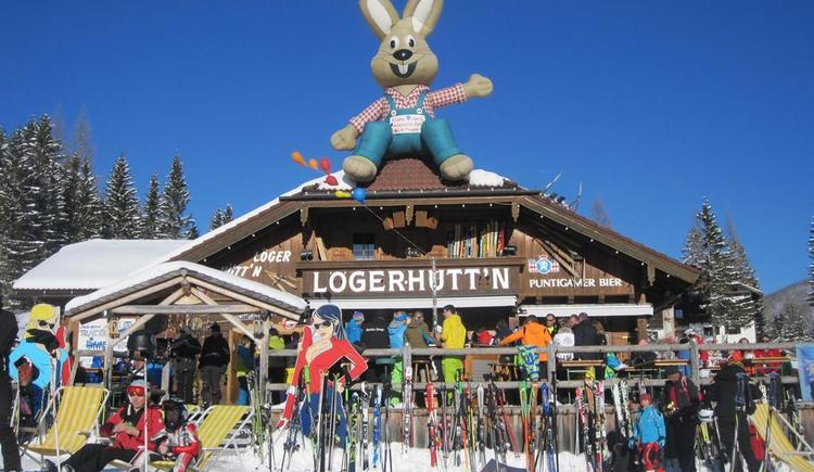 Lögerhütte (© Leslie Sedlak)