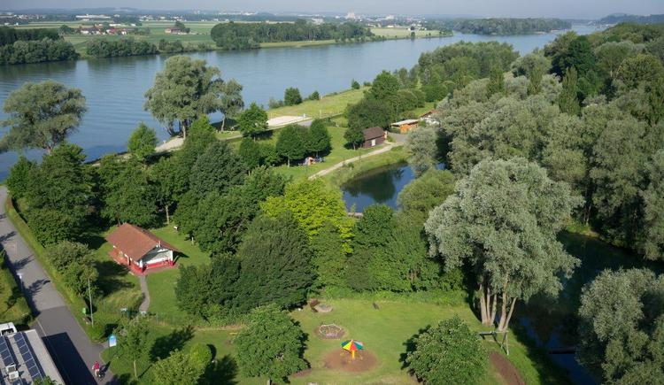 Donau, Donauradweg, Spielplatz