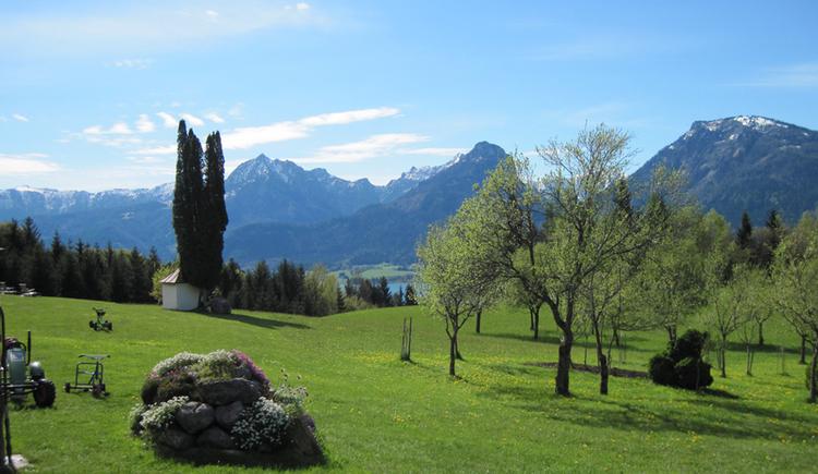 Panorama vom Aschinger (© Gisbert Rabeder)