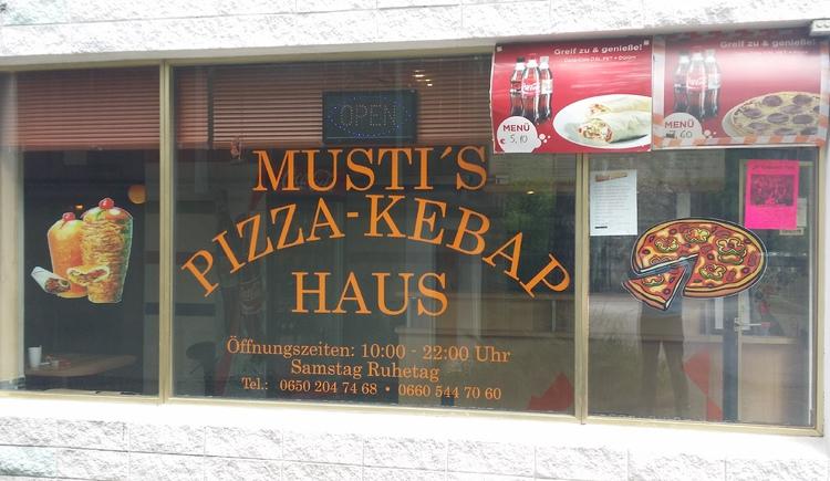 Musti's Pizza und Kebap Schnellimbiss in Bad Goisern am Hallstättersee.