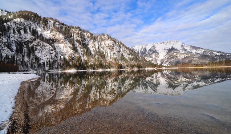 zauberhafte Winterlandschaft Offensee (© Tourismusbüro Ebensee, Spengler)