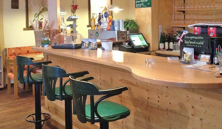 Barbereich im Restaurant Seidlgart'l
