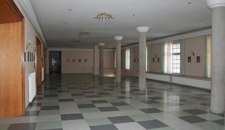 Foyer Theatersaal im Stift Kremsmünster. (© Stift Kremsmünster)