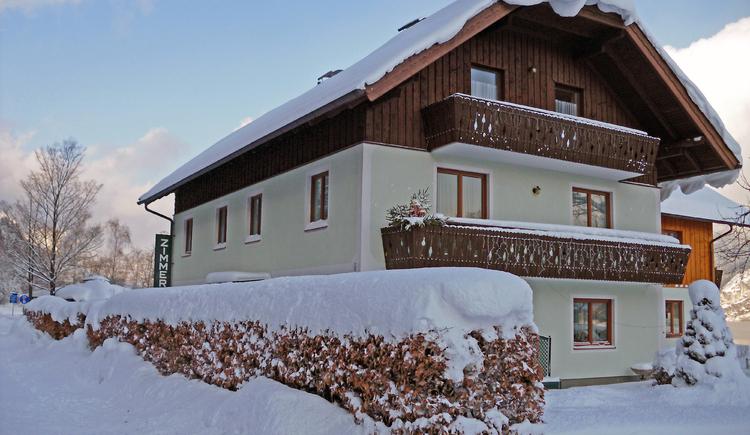 Haus Seehof, Hausansicht Winter