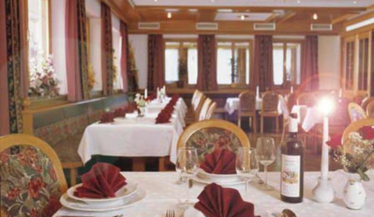 Speisesaal Gasthof Silbermair in St. Konrad im Almtal