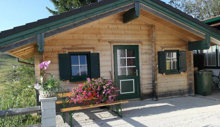 Postalm Lodge, Hüttenansicht