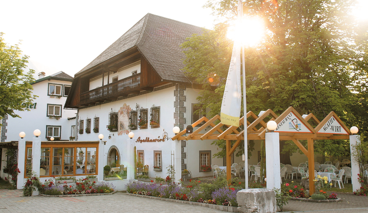 The Landhotel Agathawirt is an ideal point for starting your hiking- and biking tours.
