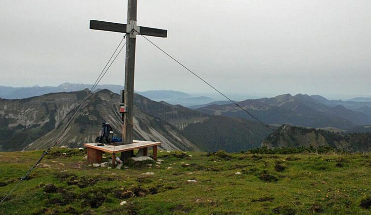 Gipfelkreuz Hoher Zinken