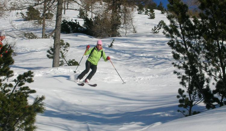 Skitour auf den Braunedl. (© WTG)