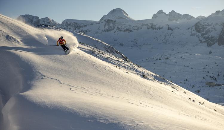 Skifahrer. (© OOE Tourismus)