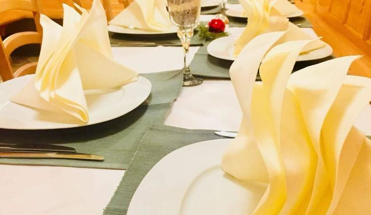 Festtafel (© Privat)