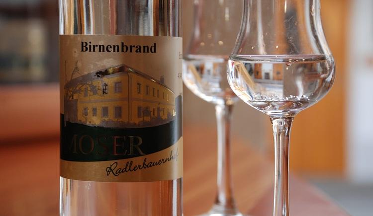Schnapsgläser (© Radlerbauernhof Moser)