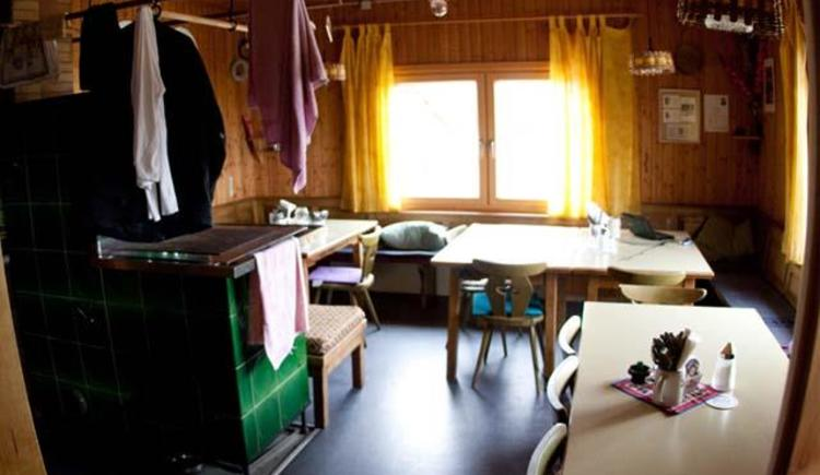 Gaststube (© Riederhütte)