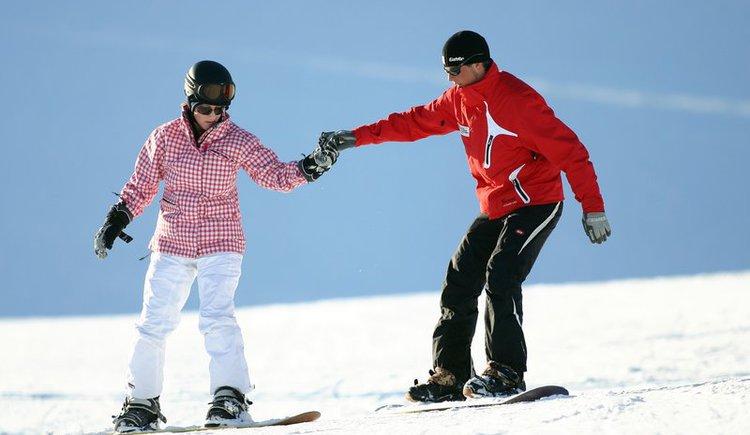 Ski-Unterricht am Wolfgangsee