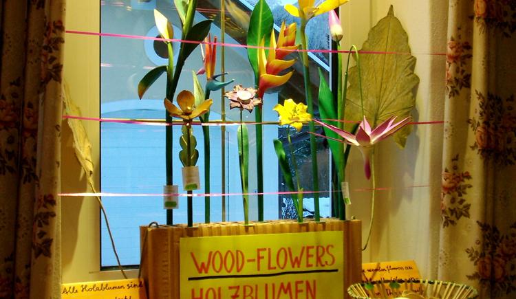 Drechslerei Leitgeb Holzblumen