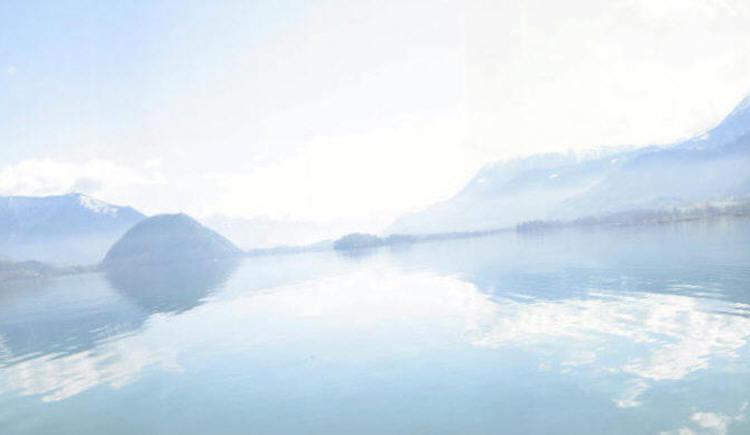 Blick über dem See. (© Panorama über dem See)