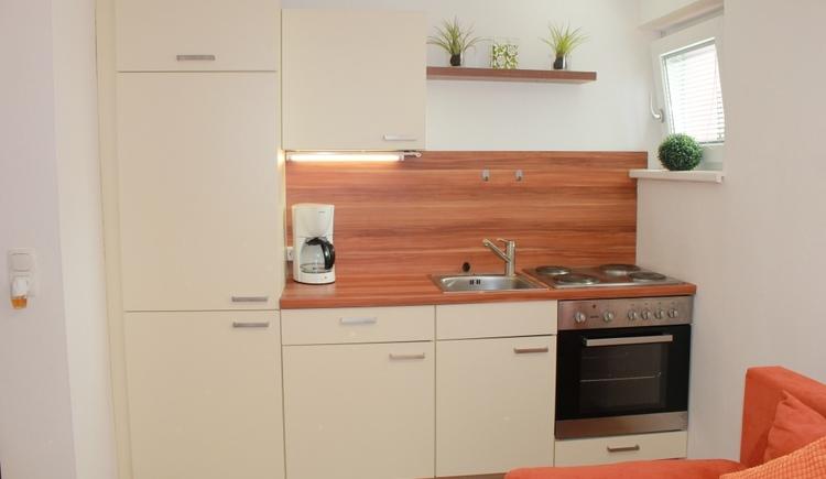 Ferienwohnung in St. Georgen im Attergau Zentrum (4km von Attersee entfernt) Küche
