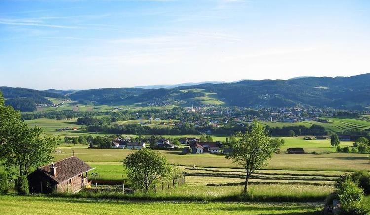 Blick nach Aigen-Schlägl (© Privat)