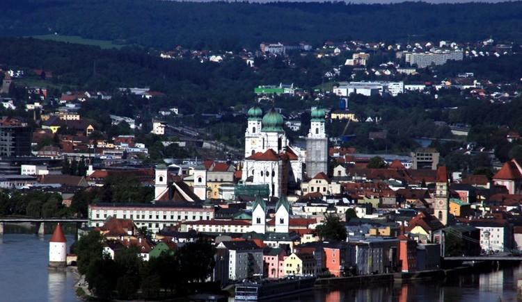 Dreiflüsse- und Universitätsstadt Passau (© Anetseder)