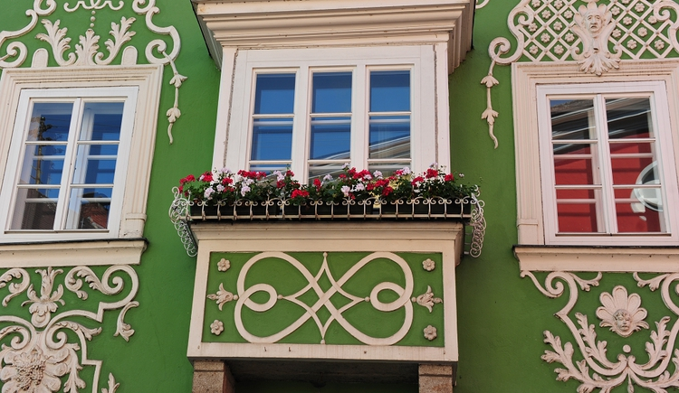 Häuserfassade (© Tourismusverband Schärding)
