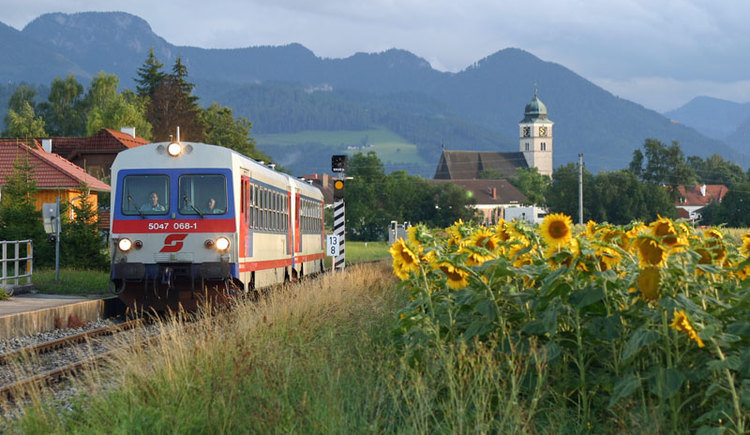Radfahren und Wandern in Pettenbach. (© Foto Ebner)