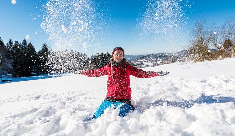 Winter in der Region Mühlviertler Alm (© Mühlviertler Alm/Hawlan)