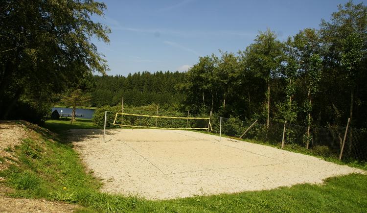 Beachvolleyballplatz Pramet. (© Innviertel Tourismus)