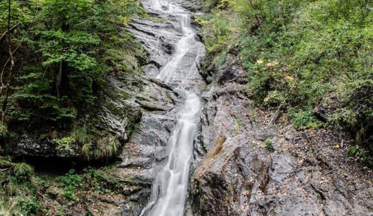 kleiner Wasserfall (© werner mair)
