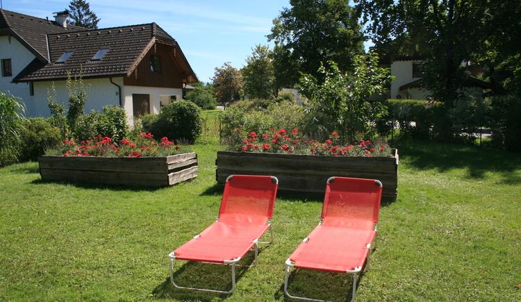 Garten vom Haus Felicitas