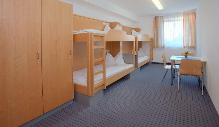 Mehrbettzimmer, Vierbettzimmer Jugendgästehaus Linz