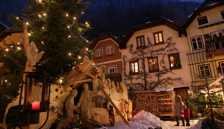 Advent, Hallstatt, Market Square