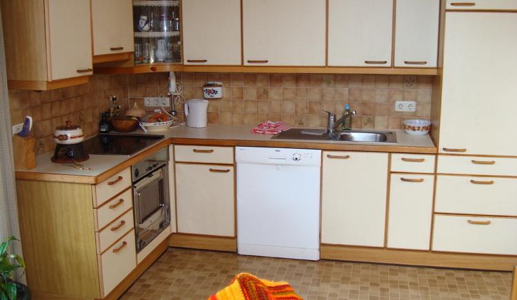 Die Küche von Hostel bon Krenn.
